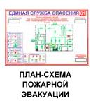 План схема пожарной эвакуации